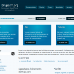Nouvelle version du site en Drupal 7